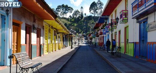 places to see in colombia